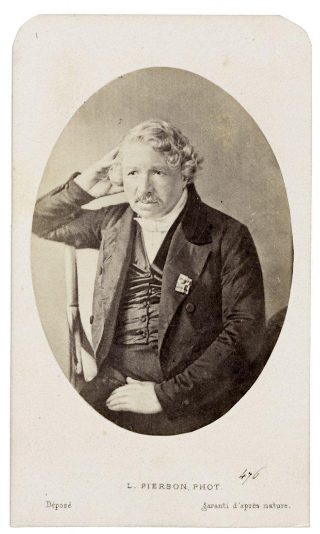 4019: Daguerre, Louis Jacques Mandé: Portrait of Louis