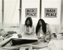 4154 Grylla Tony John Lennon and Yoko Ono BedIn