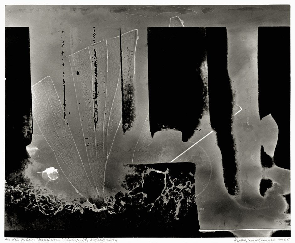 4350: Wendlandt, Kurt: Abstract photogram