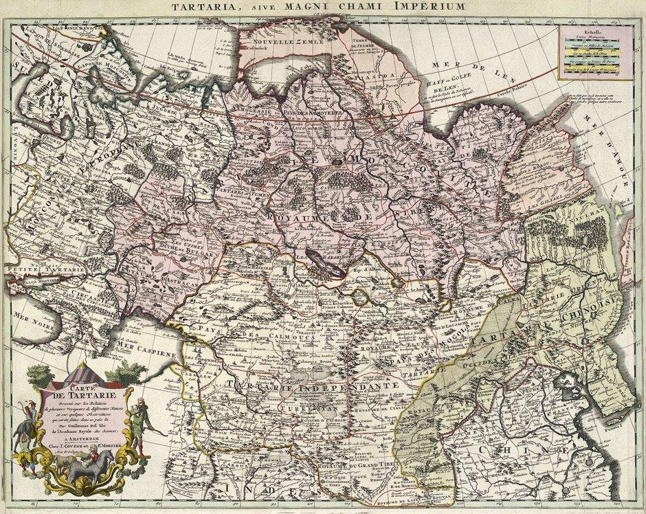 4: Asien (Covens & Mortier): Carte de Tartarie