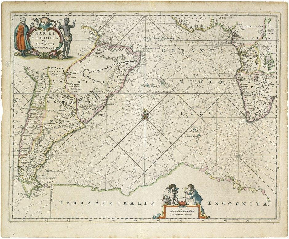 6: Atlantischer Ozean: Mar di Aethiopia