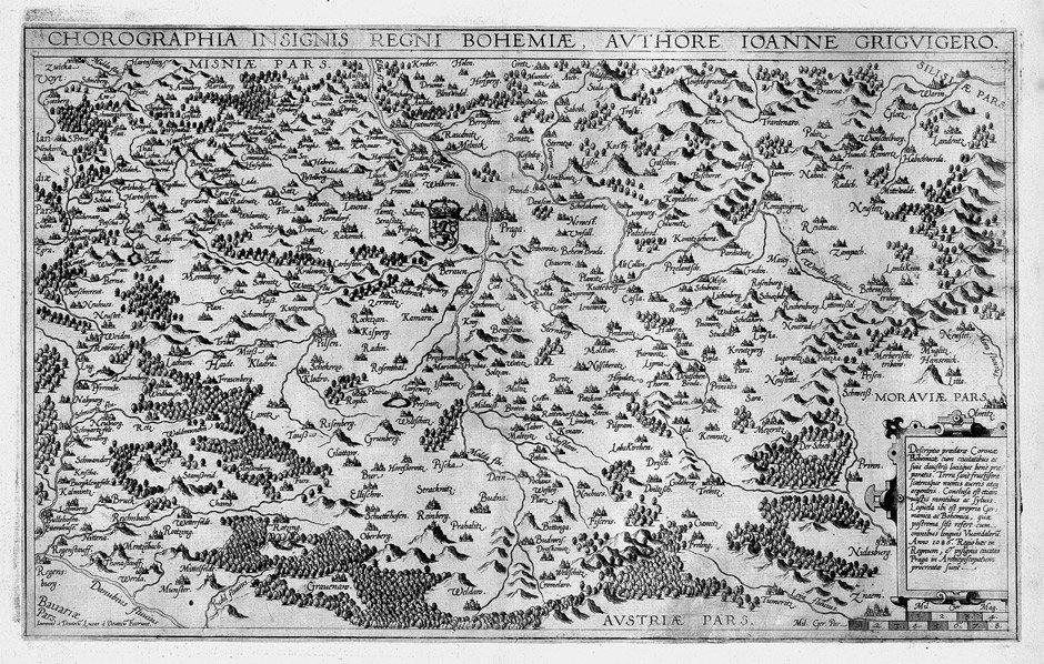 9: Böhmen (de Jode): Chorographia insignis regni Bohemi