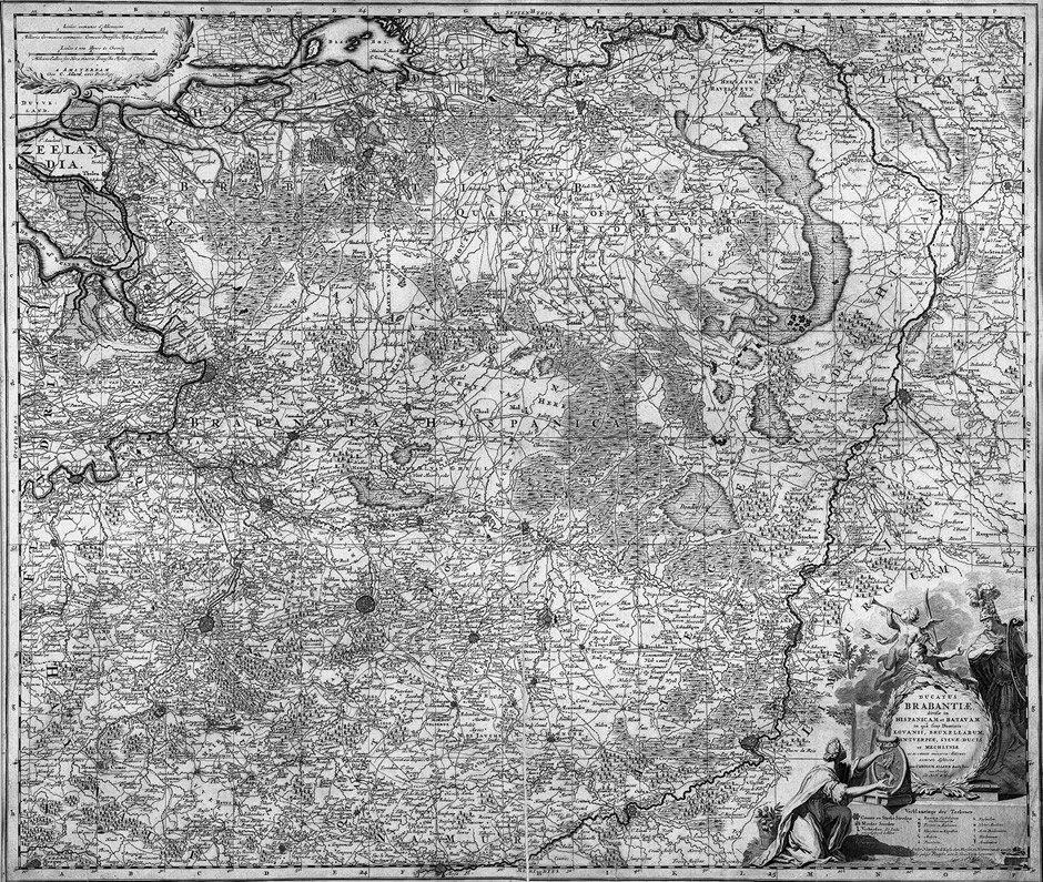 10: Brabant  (Allard) / Böhmen: Ducatus Brabantiae / Ki