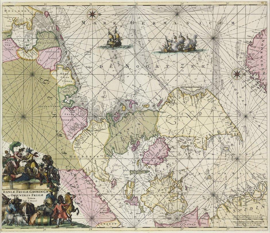 17: Dänemark (L. Renard): Daniae, Frisiae, groningae ..