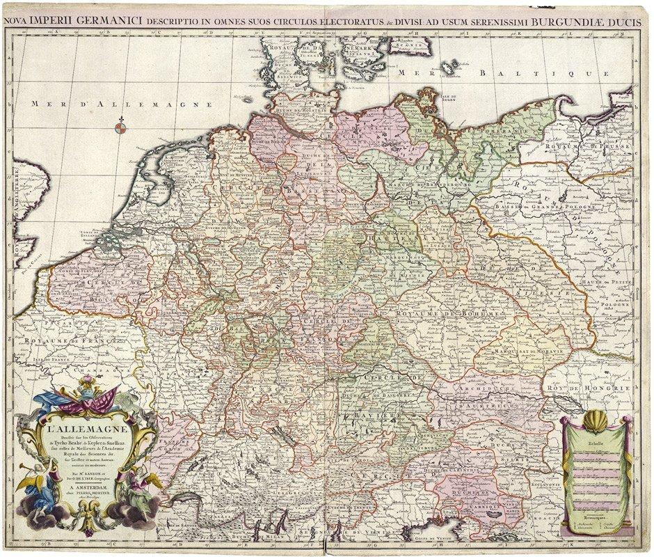 20: Deutschland / Preußen (Mortier): L'Allemagne / Regn