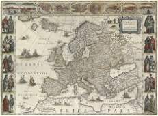 27: Europa (Blaeu): recens descripta