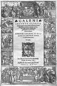 598 Galenus Claudius Galeni Secunda classis medicina