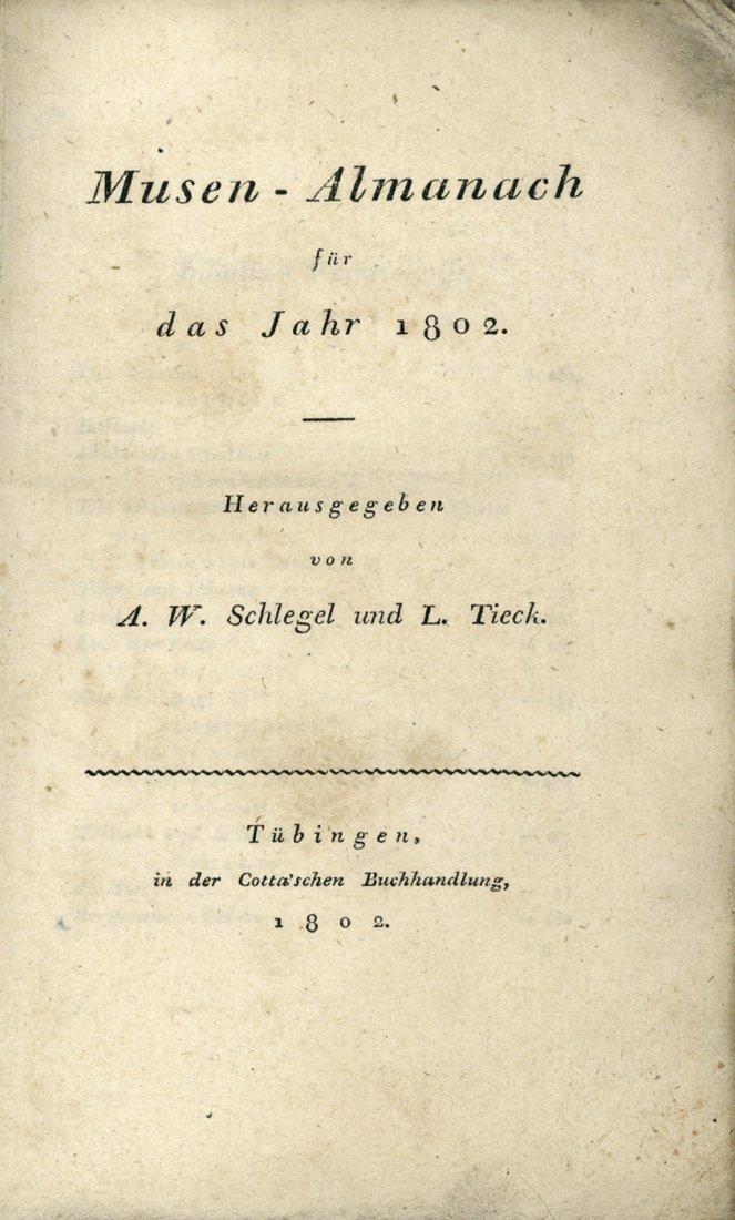 1905: Musen-Almanach: für das Jahr 1802. Hsrg. von A. W