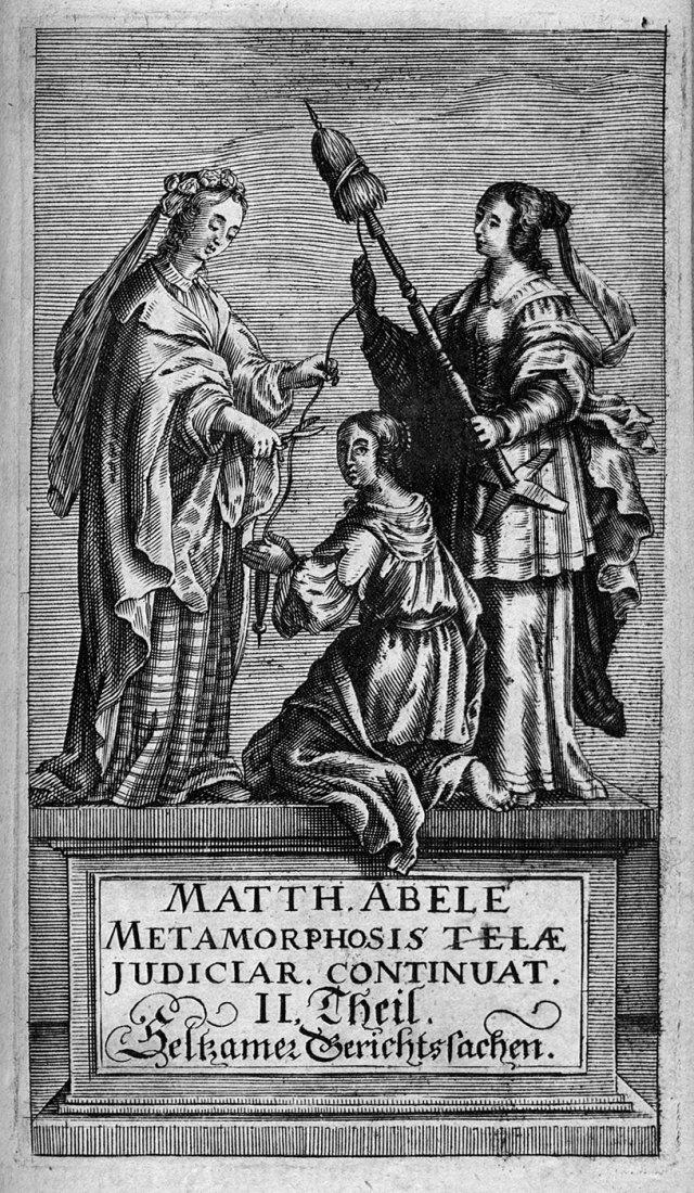 1911: Abele, Matthias von Lilienburg: Metamorphosis tel