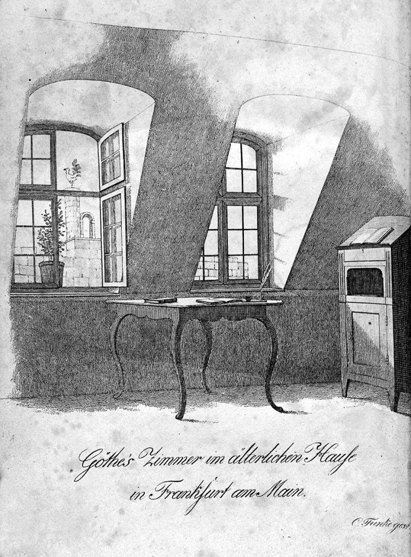 1917: Arnim, Bettina von: Goethe's Briefwechsel mit ein