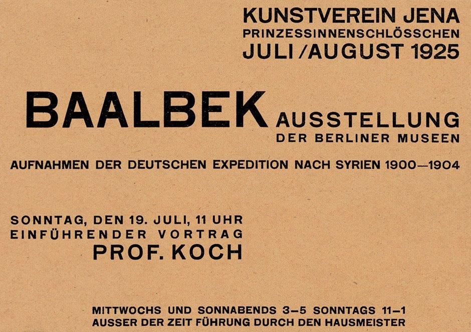 3812: Dexel, Walter: 3 Werbekarten - Kunstverein Jena,