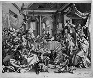 5184: Sadeler, Raphael I: Allegorie auf die Gesundheit,