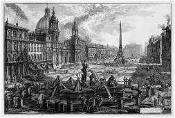 5300: Piranesi, Giovanni Battista: Veduta di Piazza Nav