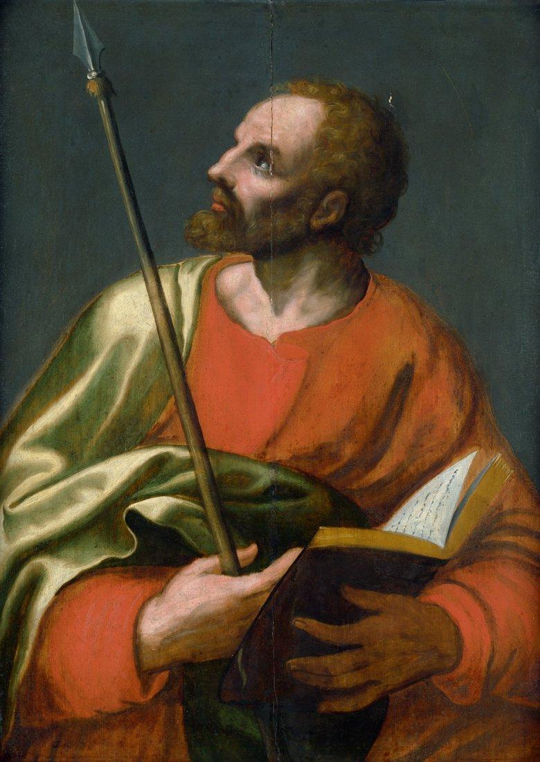 6004: Italienisch - 2. Hälfte 16. Jh.: Der Apostel Matt