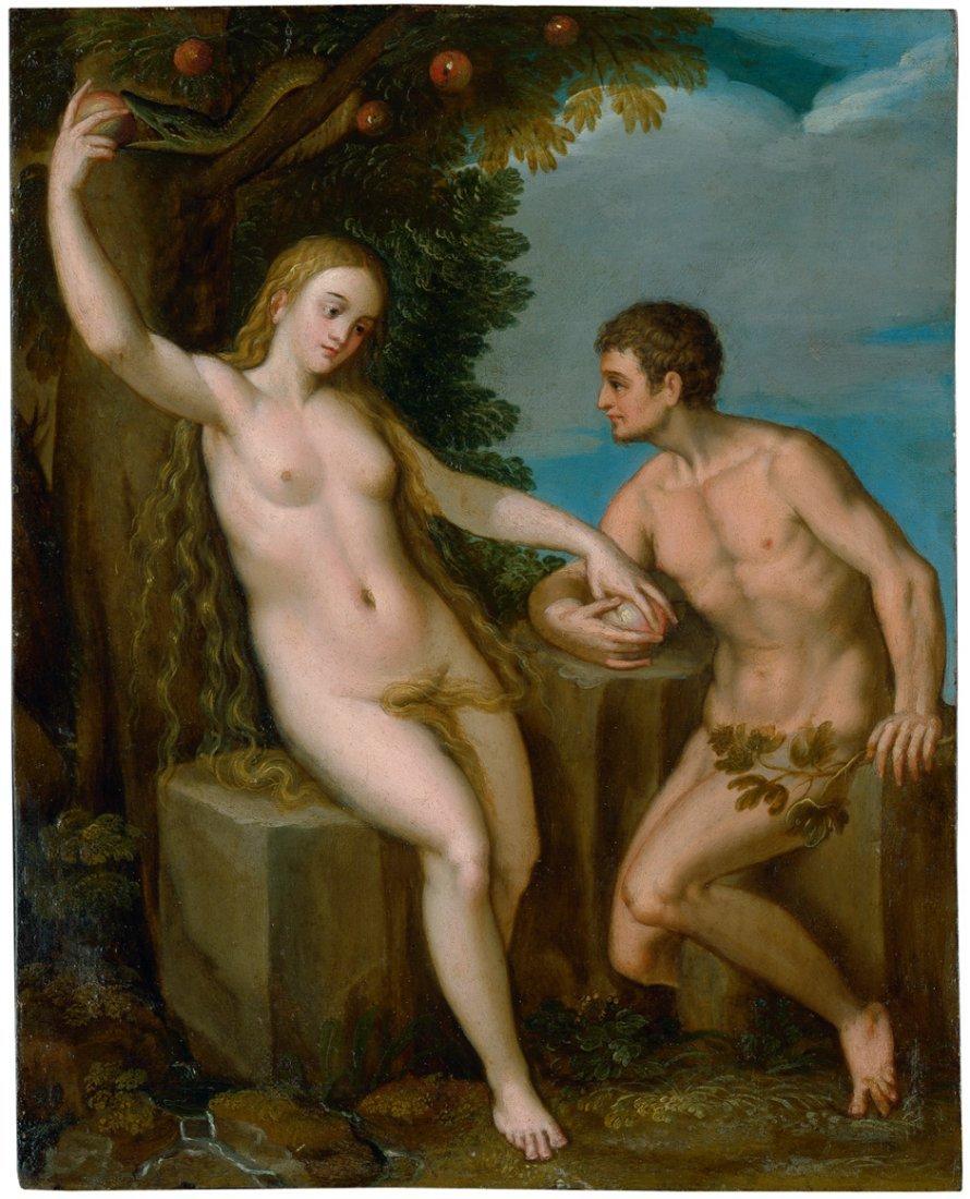 6011: Freyberger, Hans: Adam und Eva