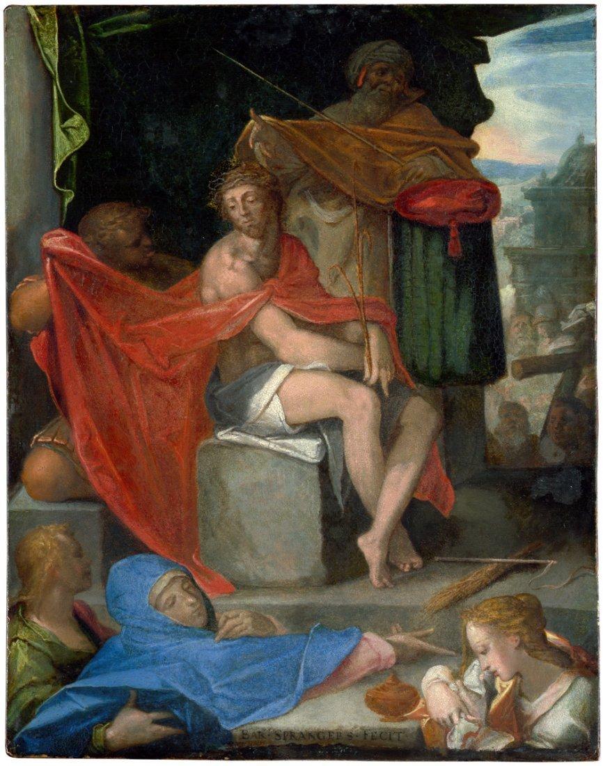 6012: Spranger, Bartholomäus: Ecce Homo
