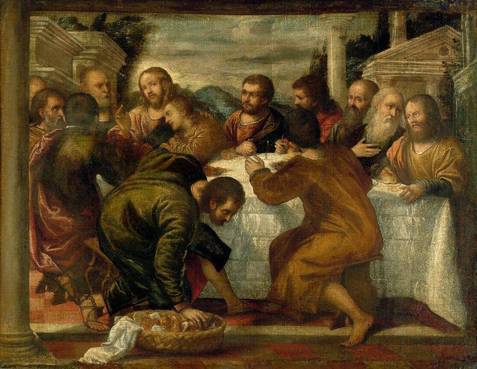 6014: Venezianisch - um 1600: Das letzte Abendmahl
