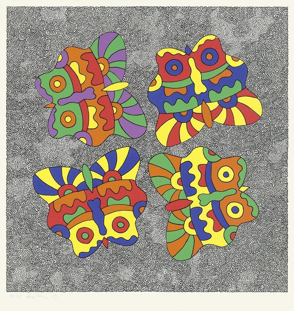 7004: Akrithakis, Alexis: Schmetterlinge