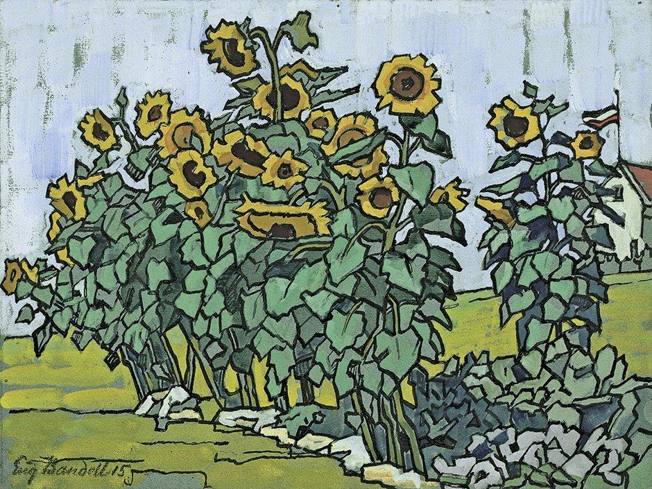 7016: Bandell, Eugenie: Sonnenblumen