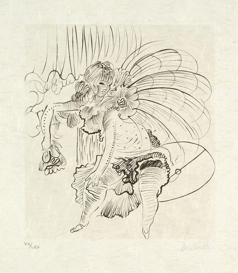 7023: Bellmer, Hans: Tänzerin im Tüllrock