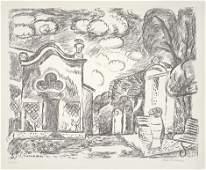 7428 Purrmann Hans Kapelle und Brunnen in Levanto