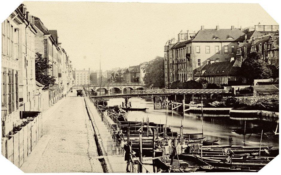 4004: Ahrendts, Leopold: Burgstraße and Lange Brücke