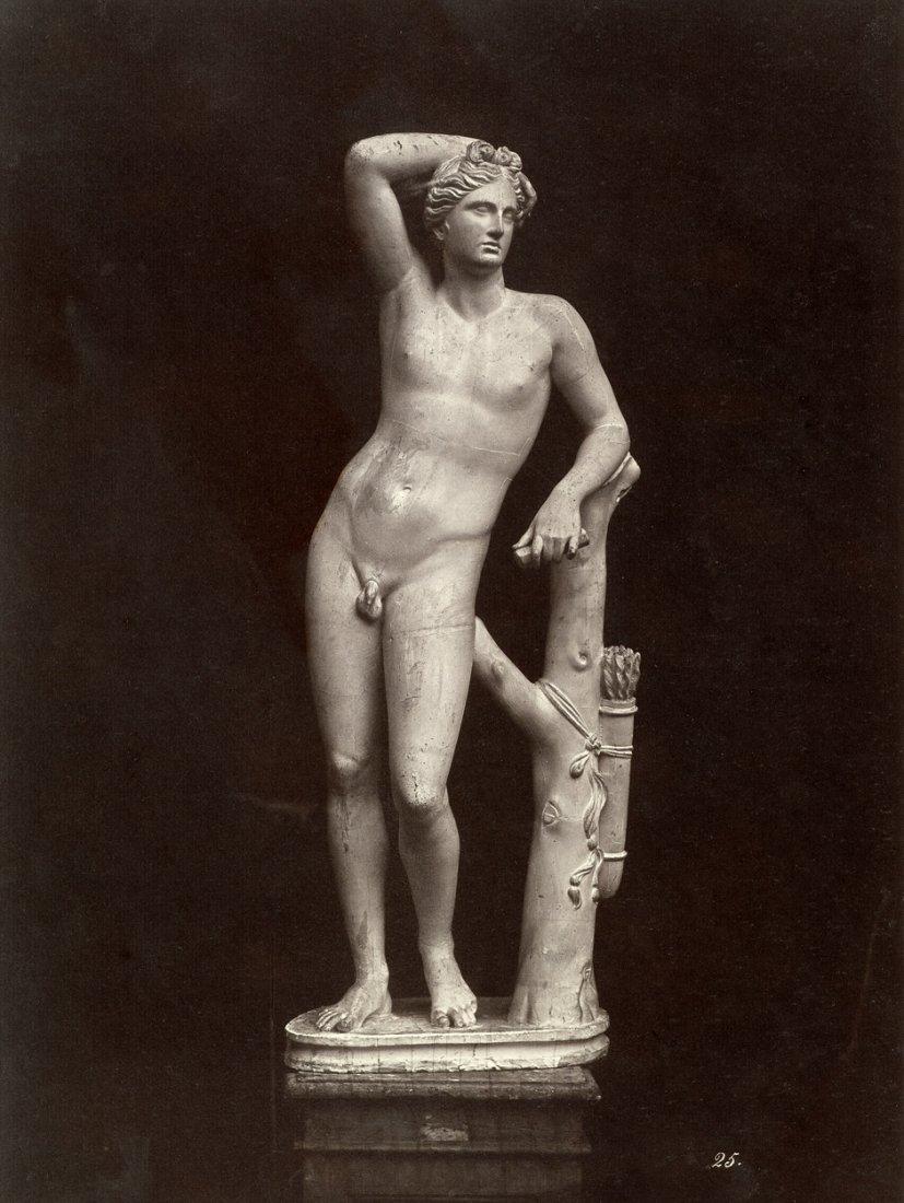 4009: Alinari, Leopoldo: The Apolino statue