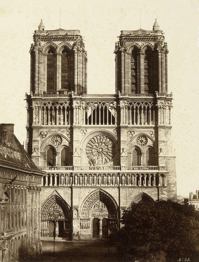 4012: Baldus, Edouard-Denis: Notre Dame; Hotel de Ville