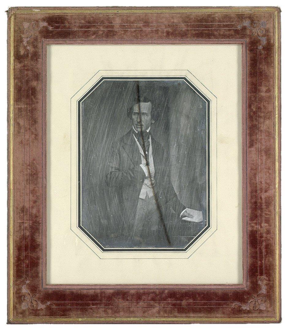 4016: Biow, Hermann - : Portrait of a man