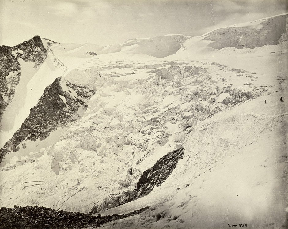 4019: Bourne, Samuel: Snow Scene in the Neela Pass; Vie