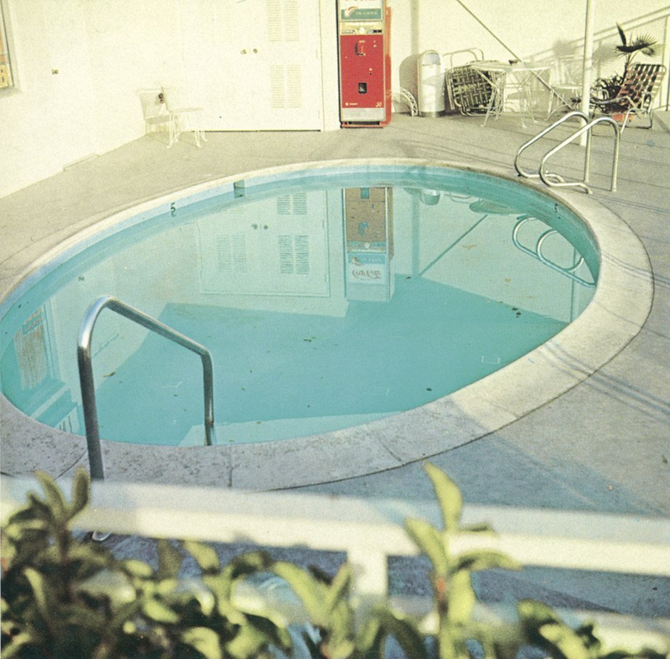 4644: Ruscha, Edward: Nine Swimming Pools and a Broken  - 2