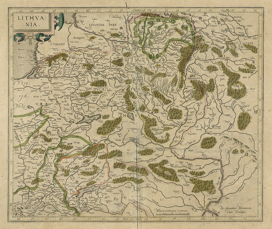Litauen (Mercator): Lithuania