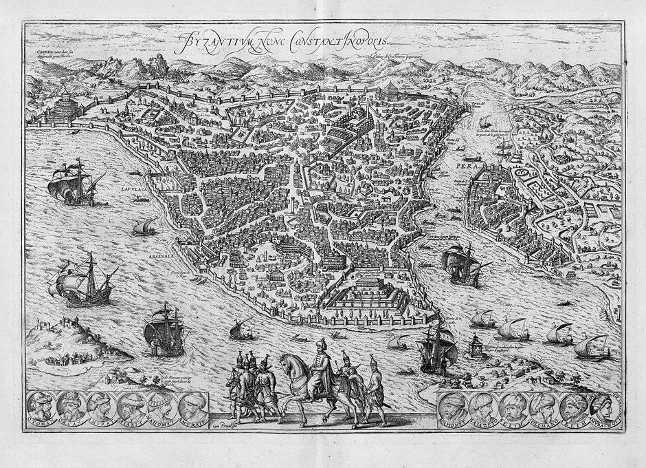 Konstantinopel: Byzantinum, nunc Constantinopolis