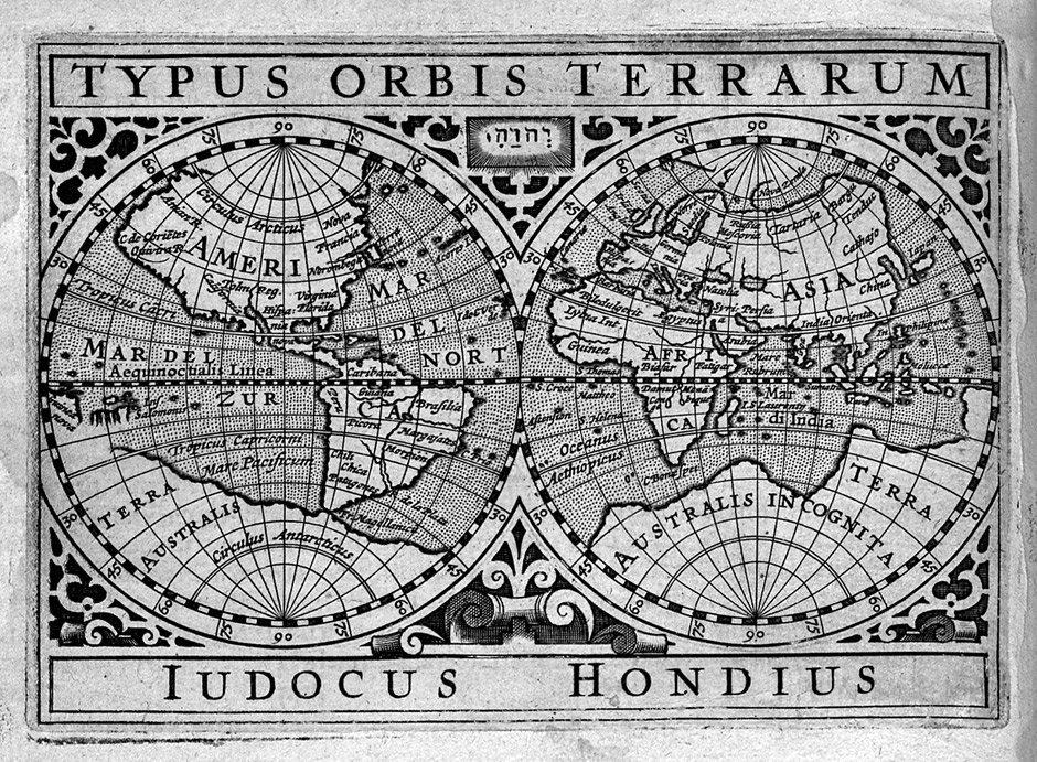 Bertius, Petrus: La Géographie Racourcie.