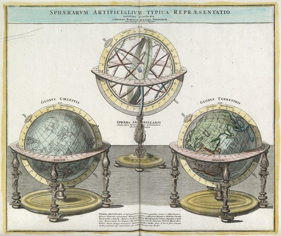 Doppelmayr, Johann Gabriel: Atlas Novus Coelestis. Nürn