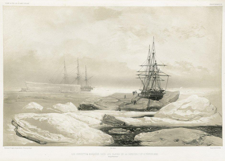 Dumont d'Urville, J. : Voyage au Pole Sud et dans l'Océ