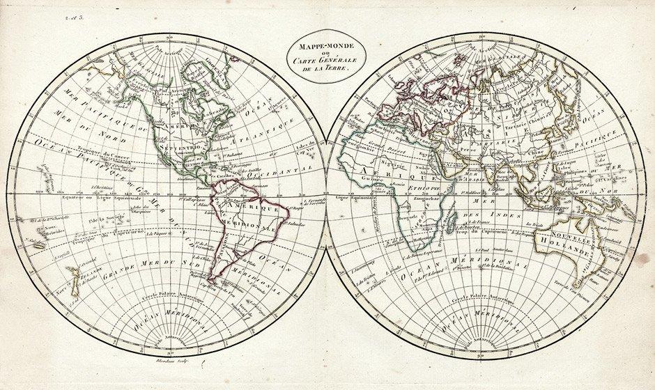 Guthrie, William: Atlas universel, pour la géogaphie. P