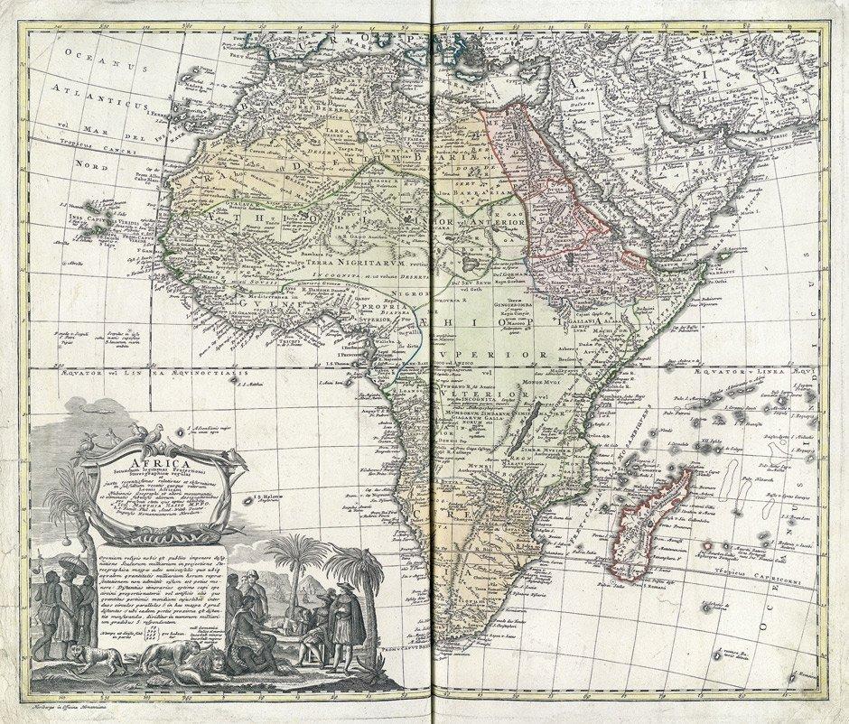 Johann Baptista Homann: Kleiner Atlas Scholasticus von