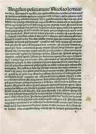 Leonicenus, Nicolaus: De Plinii et aliorum in medicina