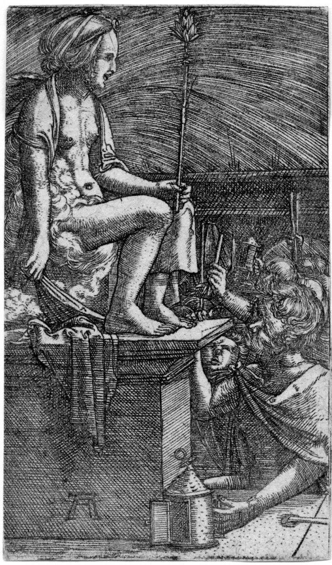 Altdorfer, Albrecht: Die Rache des Zauberers Vergil