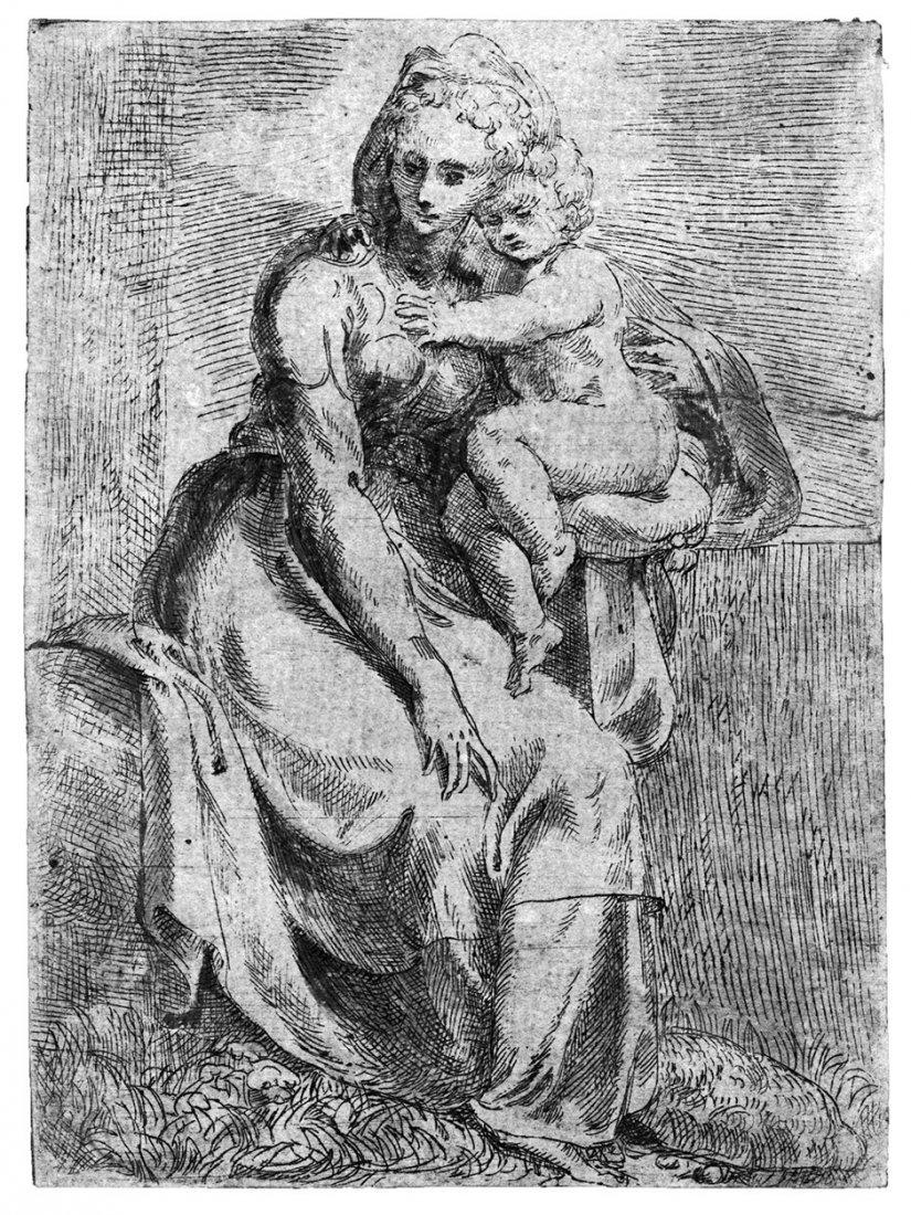 Angeli, Giovanni Battista d': Die Madonna mit Kind