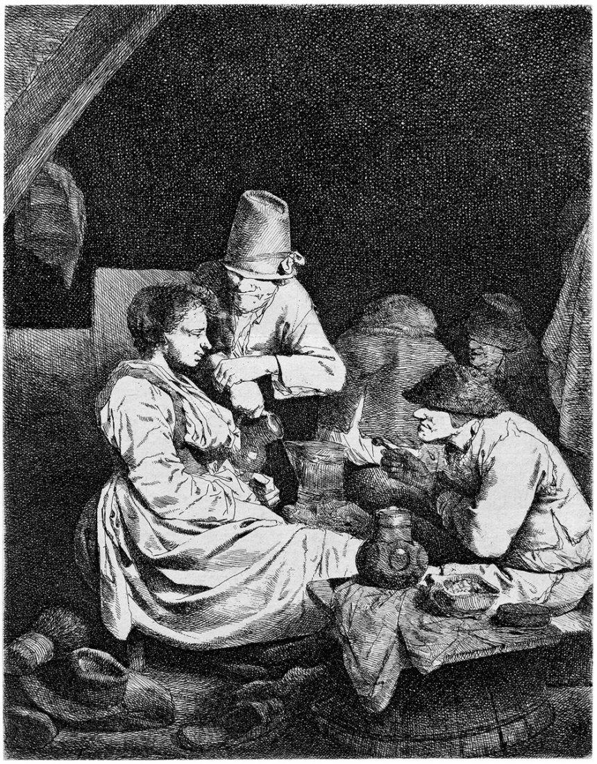 Bega, Cornelis: In der Gaststube