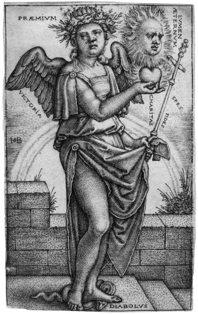 Beham, Hans Sebald: Allegorie des Christentums