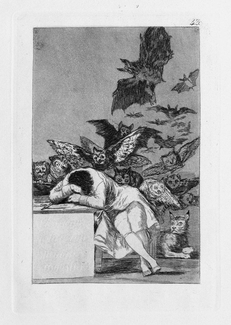 Goya, Francisco de: El Sueno de la Razon produce Monstr