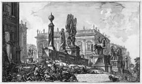 Piranesi, Giovanni Battista: Veduta del Campidoglio di