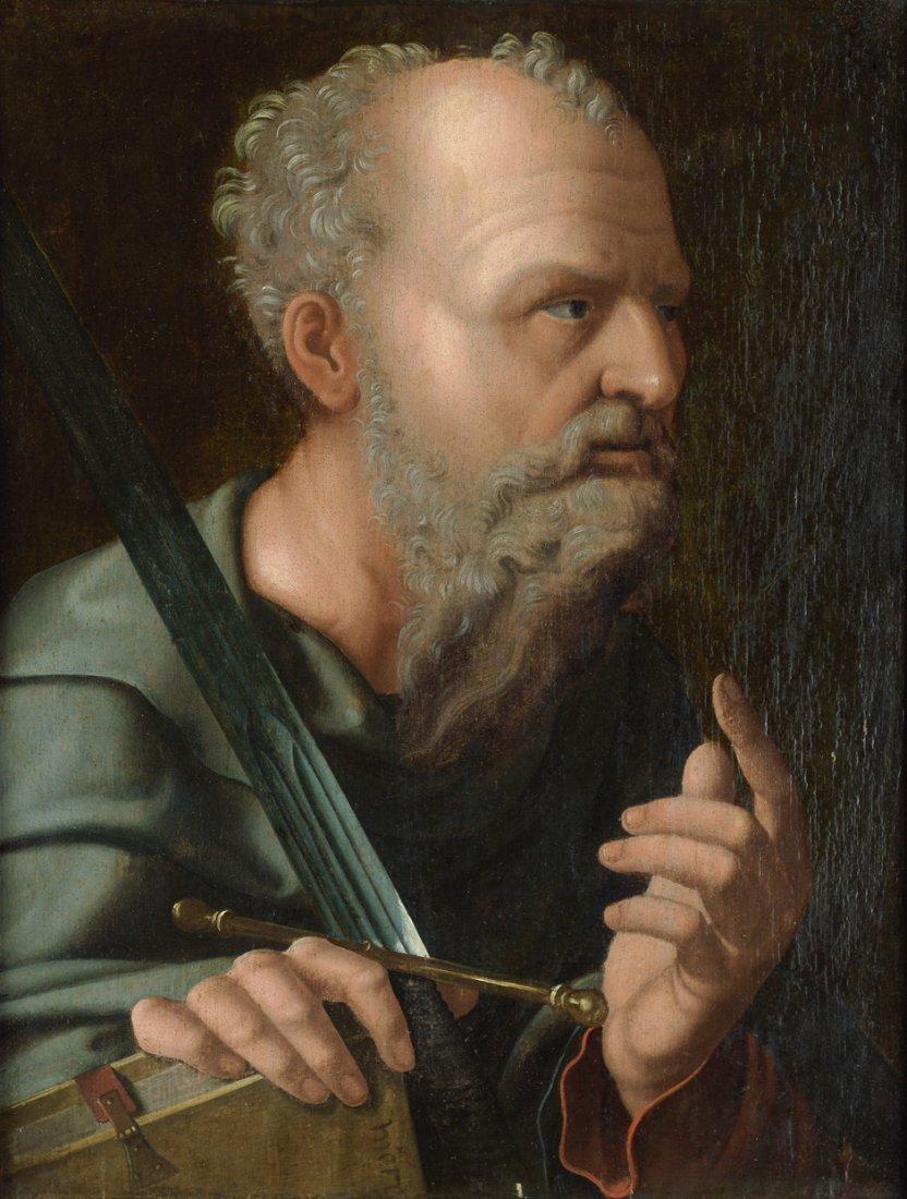 Scorel, Jan van - zugeschrieben: Der Apostel Paulus