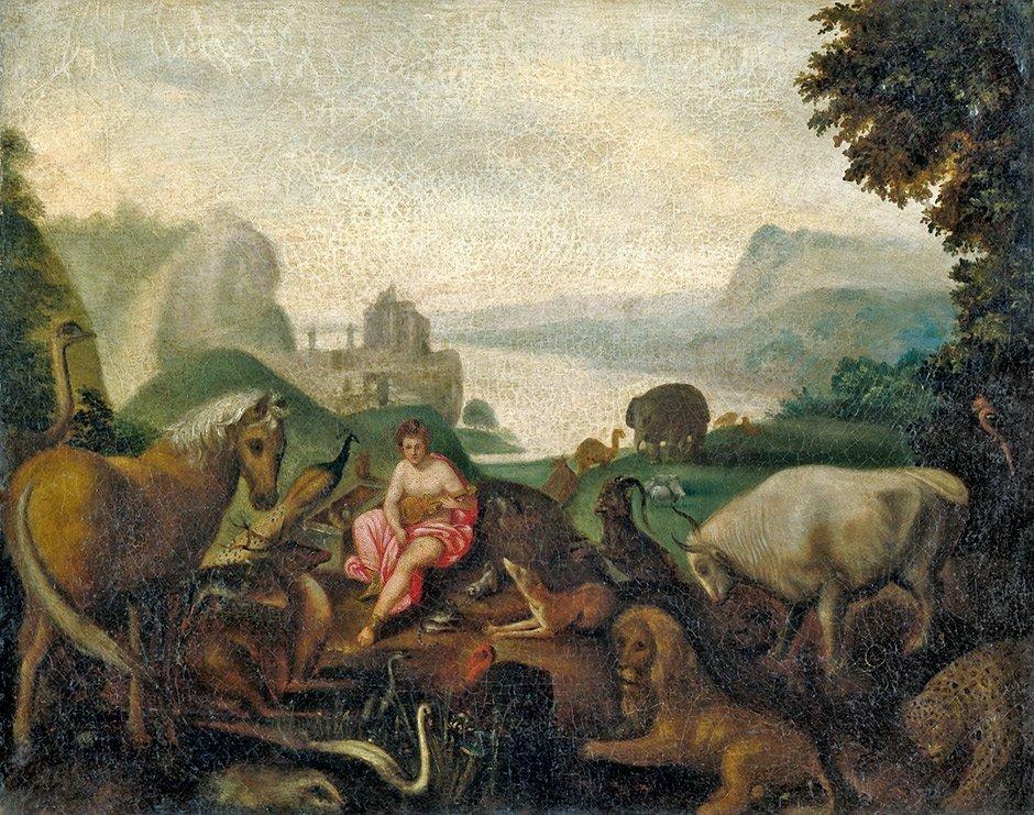 Niederländisch - 1. Hälfte 17. Jh.: Orpheus unter den T