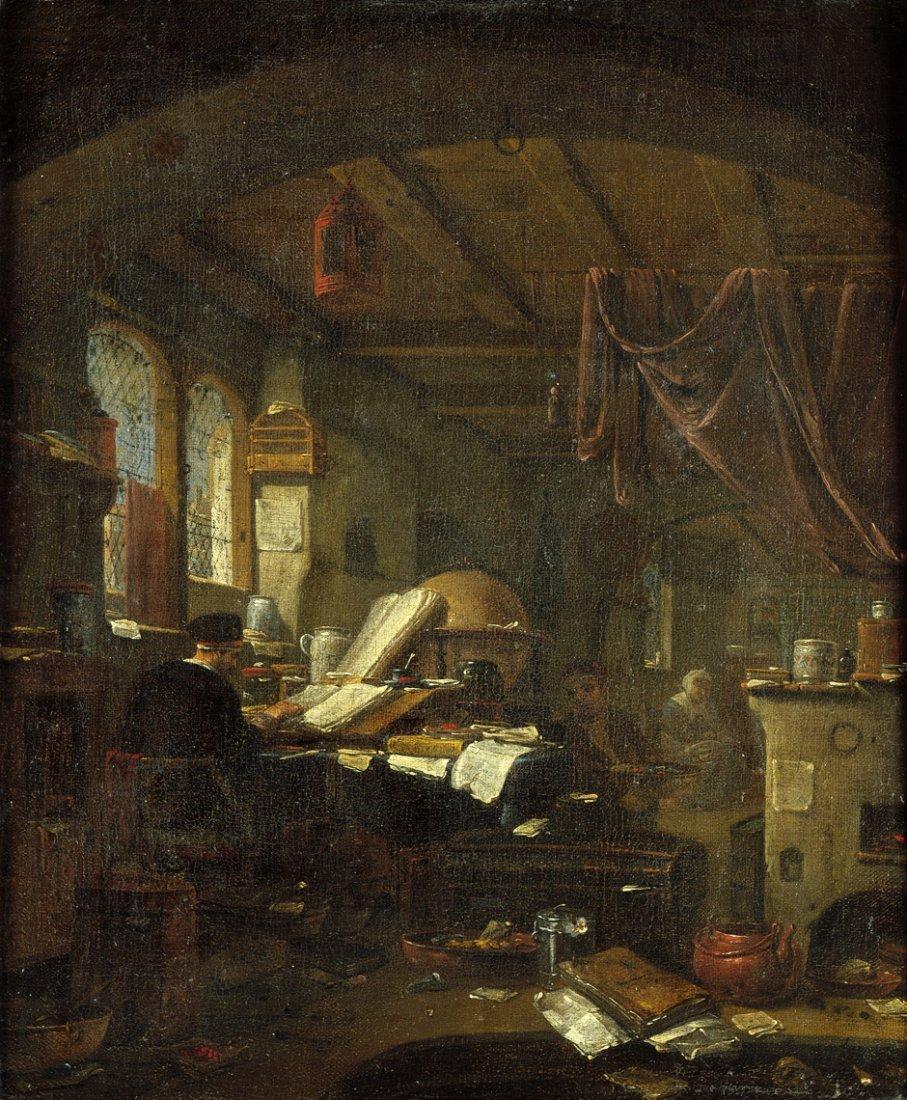 Wijck, Thomas - zugeschrieben: Der Alchemist in seiner
