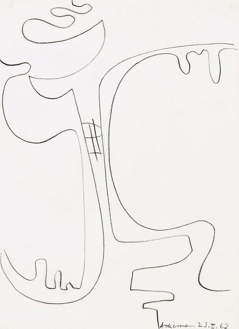 Ackermann, Max: Abstrakte Figur