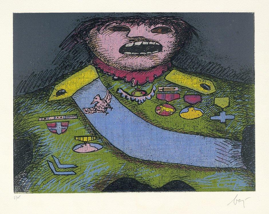 Baj, Enrico : Ritratto di Guerriero